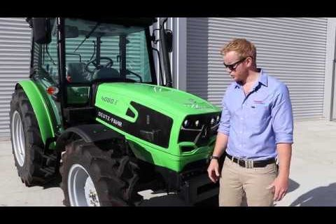 Deutz-Fahr 4 Series Tractor Walkround