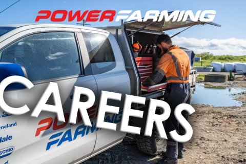 Power Farming Careers - Service Manager Josh Evershed