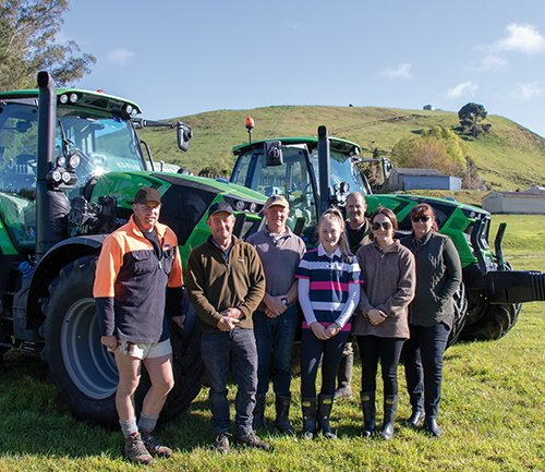 The Garland's Enjoy Deutz-Fahr Reliability and Productivity