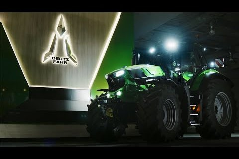 The NEW 8280 TTV by Deutz-Fahr